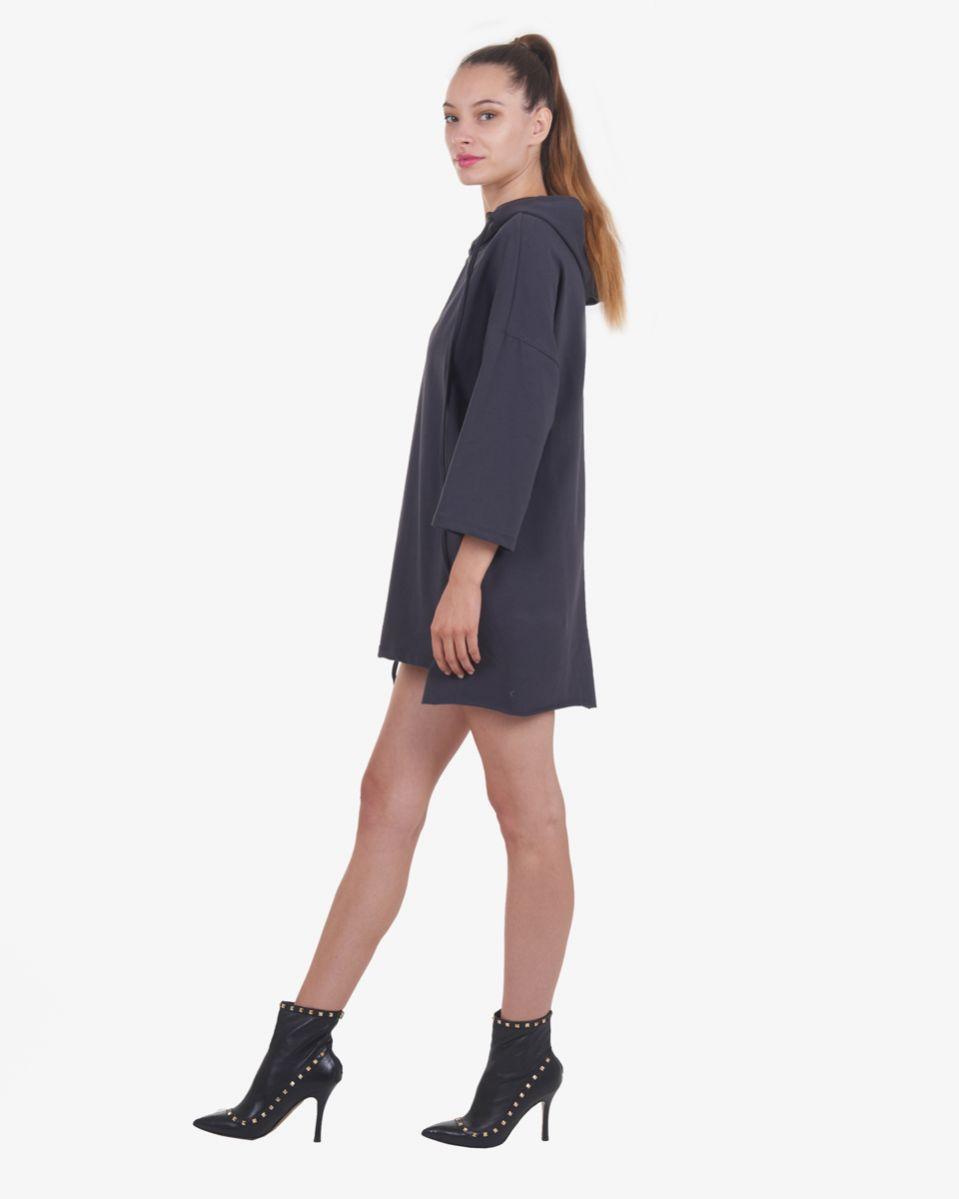 Felpa mini abito