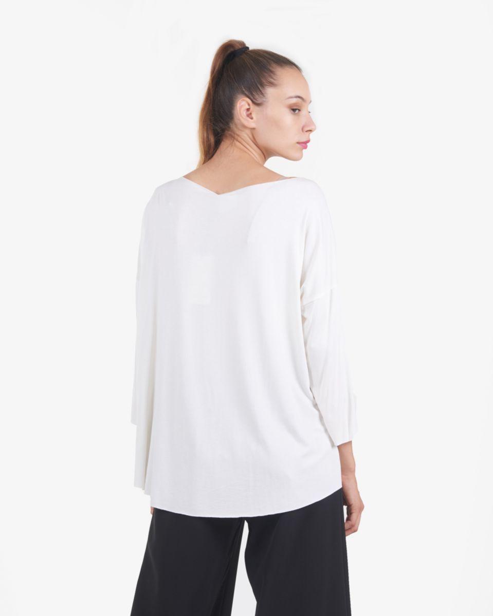 T shirt con maniche 3/4
