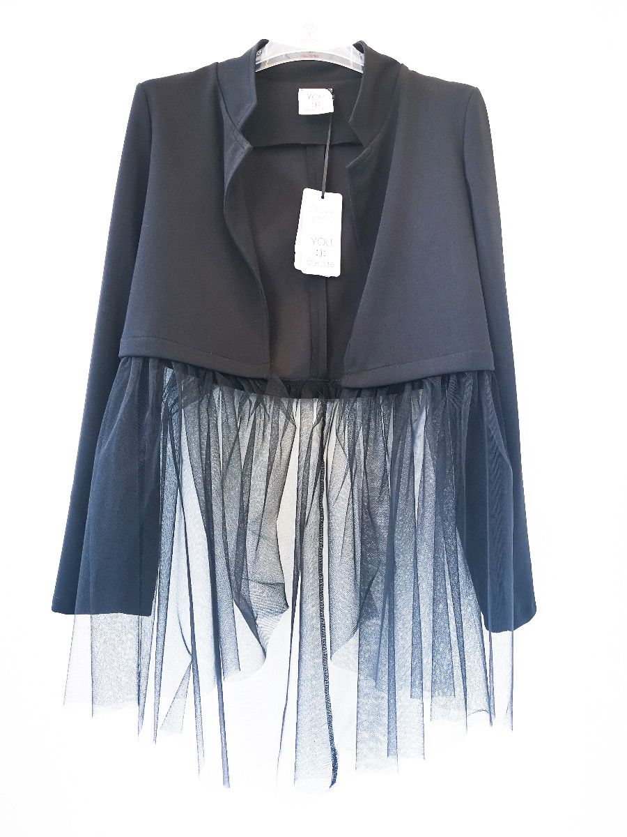 Giacca Tulle sotto