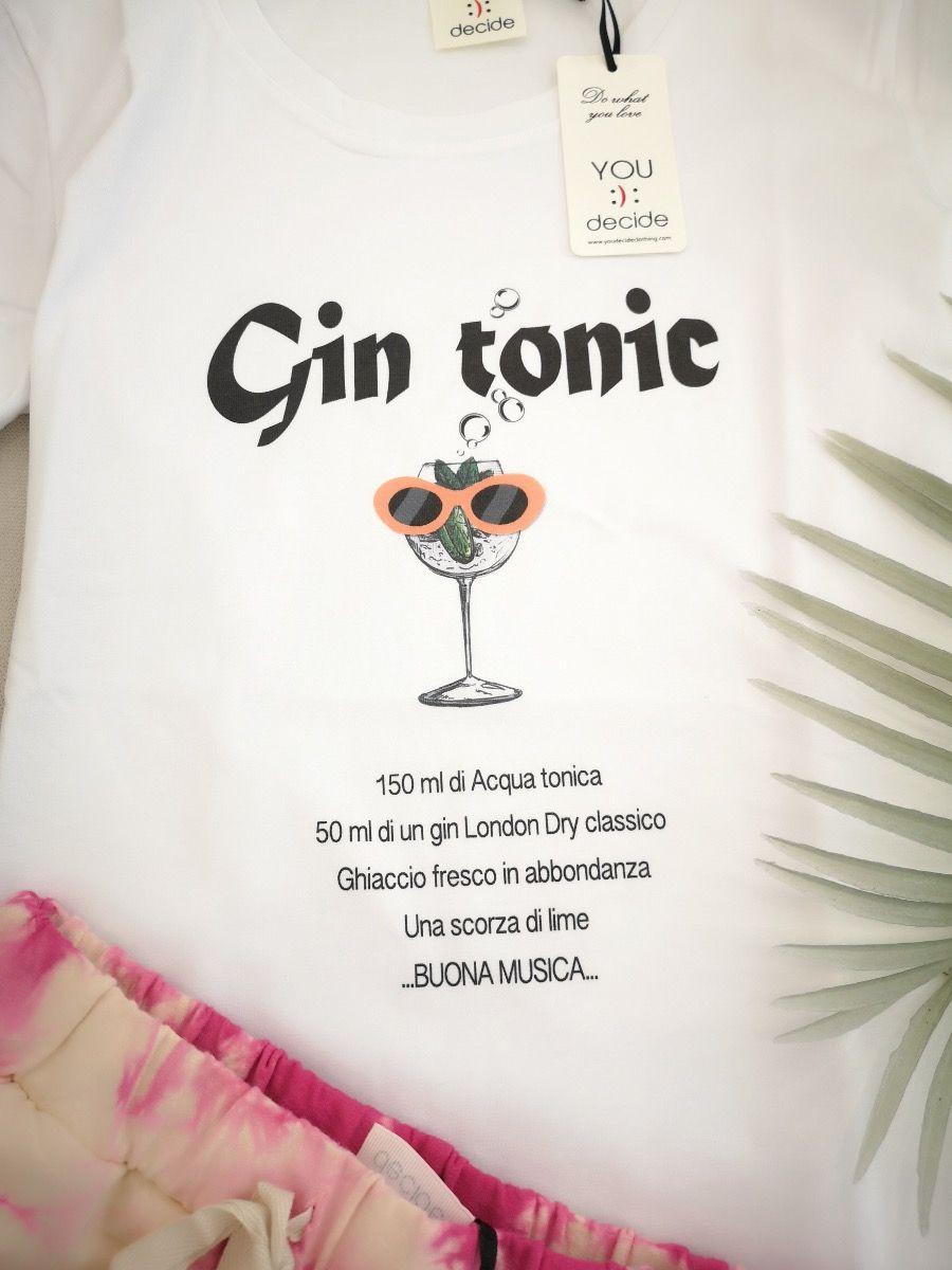 T-SHIRT GIN TONIC