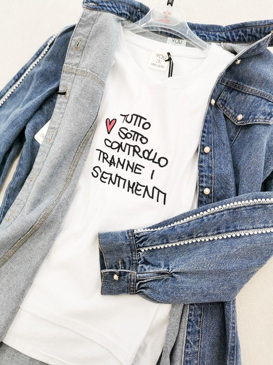 T-SHIRT SENTIMENTI