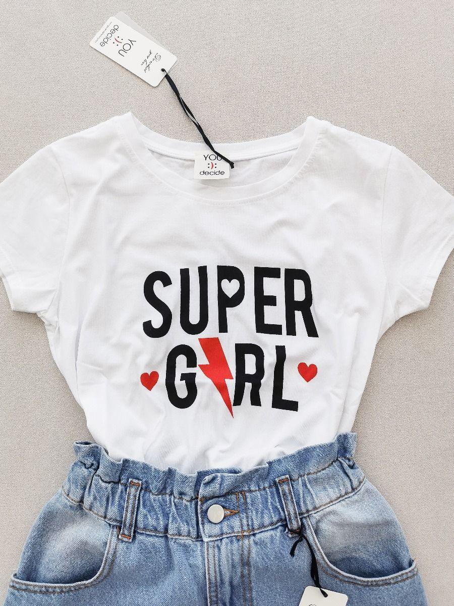 T-SHIRT SUPER GILR