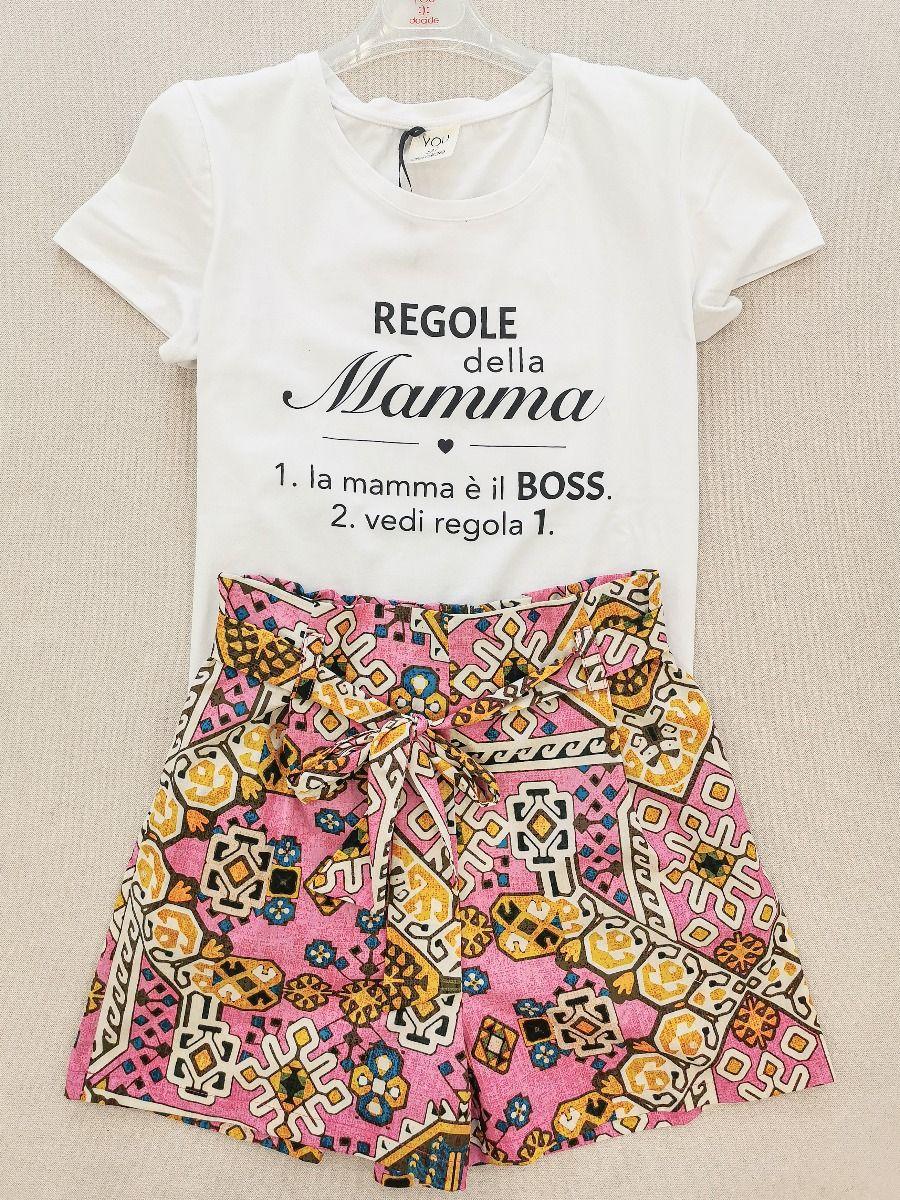 T-SHIRT REGOLE DELLA MAMMA