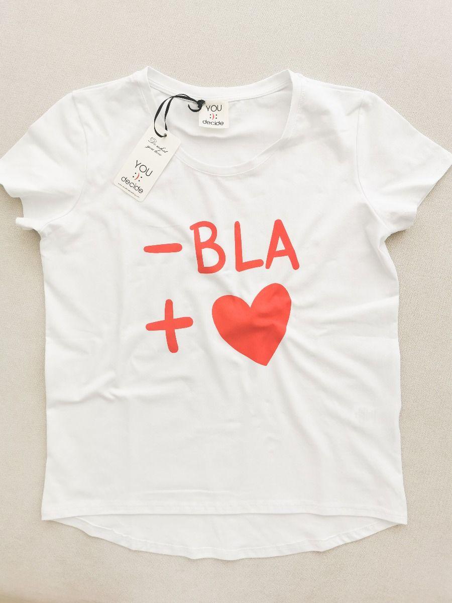 T-SHIRT -BLA