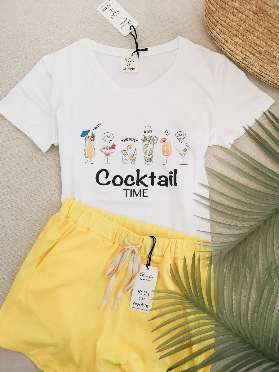 T-SHIRT COCKTAIL