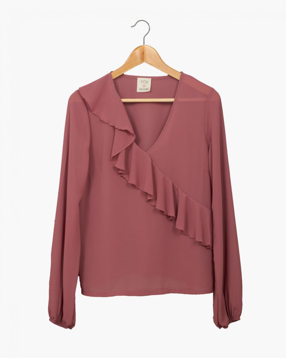 Camicia georgette