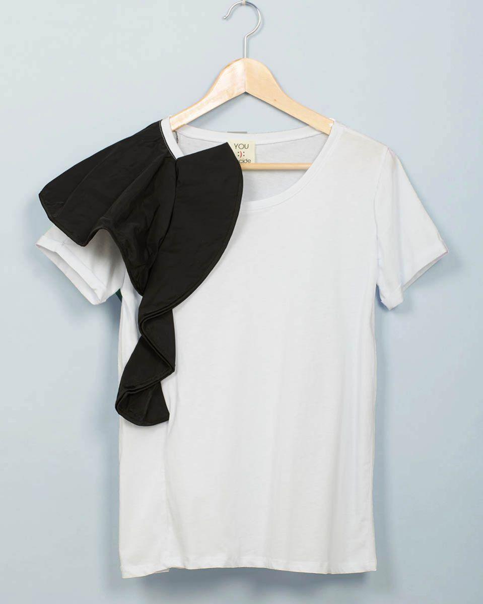 T-shirt voulant