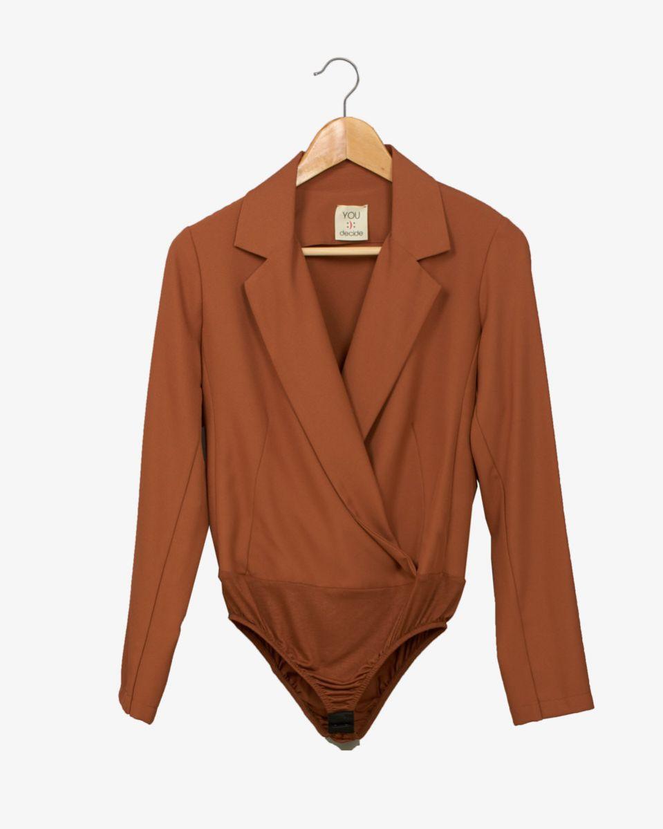 Body scollo giacca