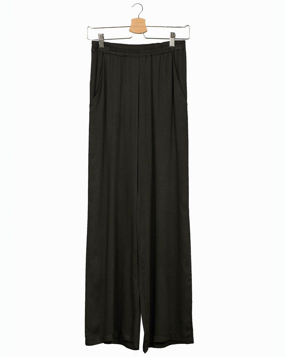 Pantalone raso viscosa