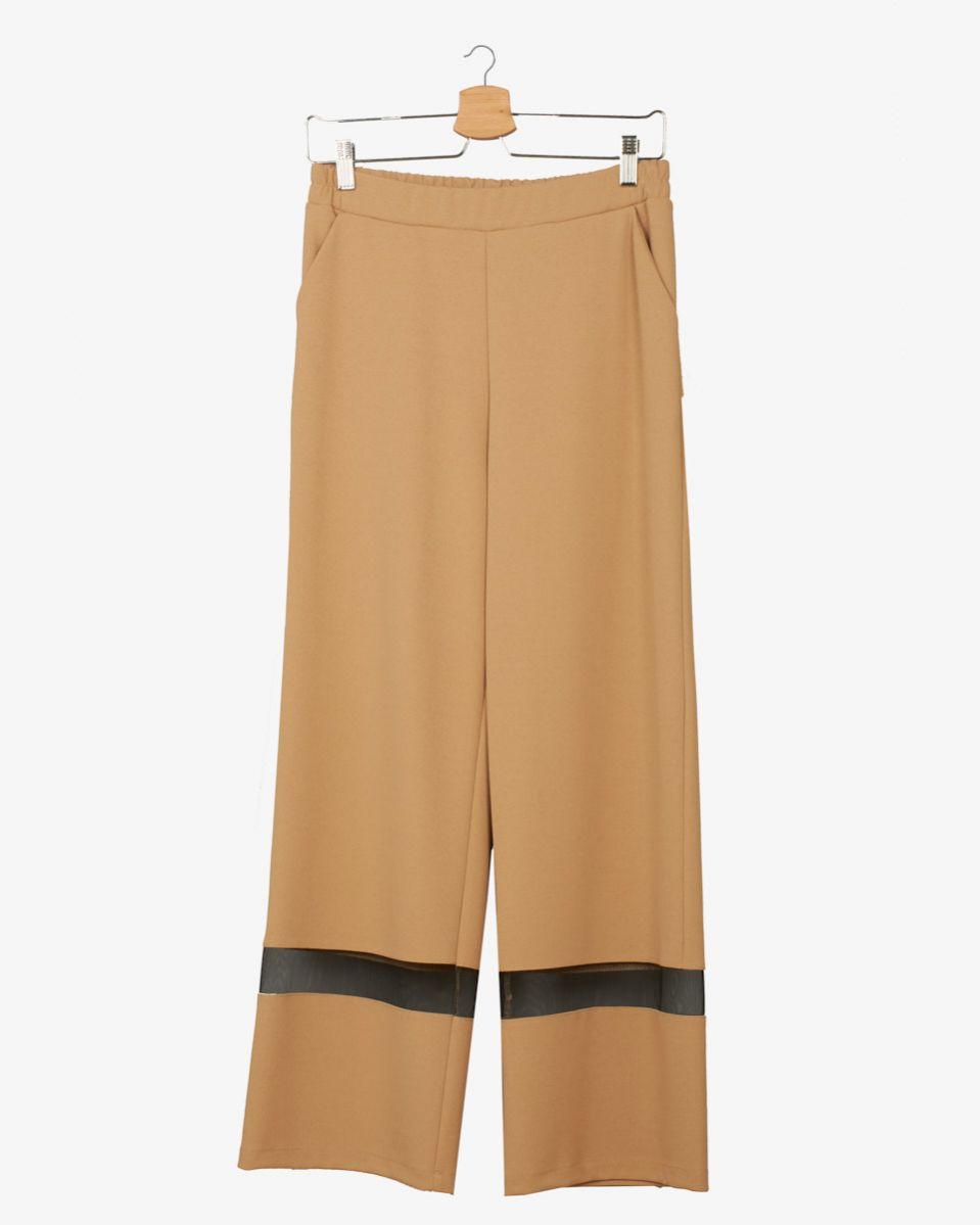 Pantalone con tulle