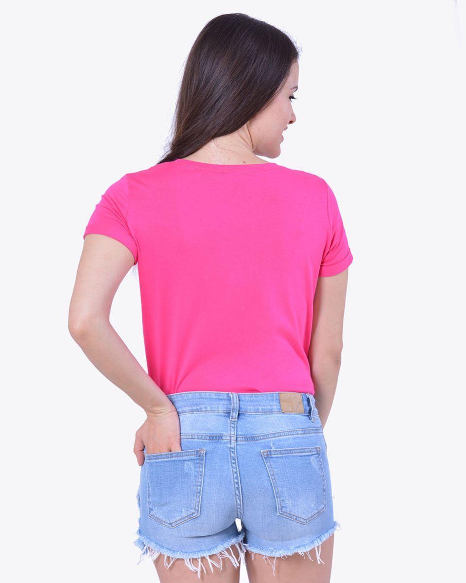 Short Jeans taglio vivo