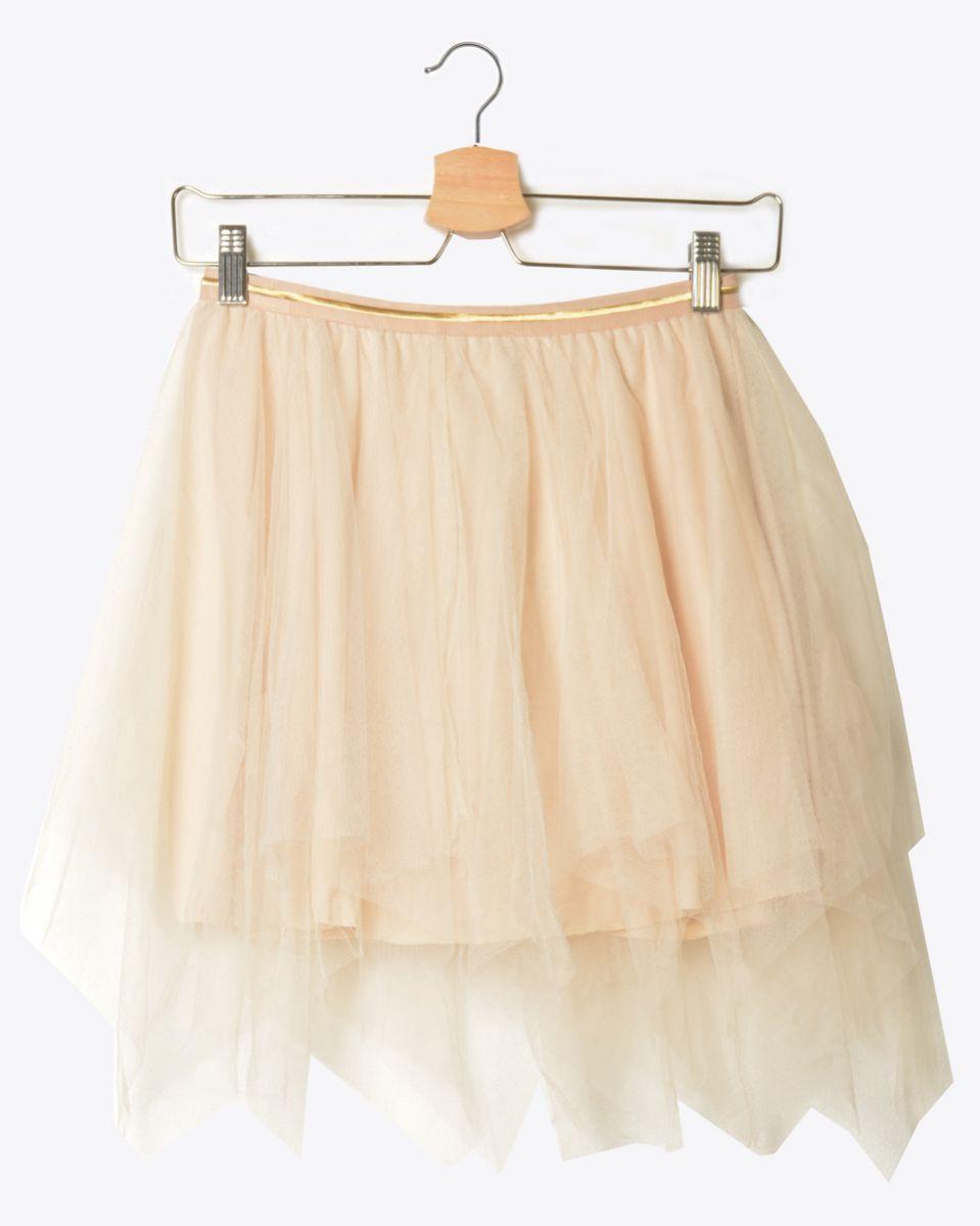 Minigonna pantalone tulle
