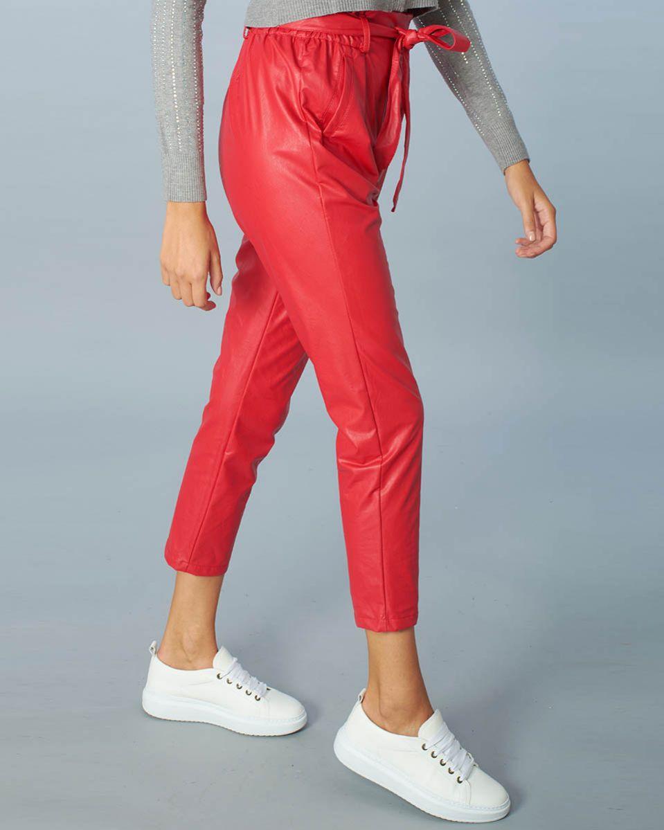 Pantalone eco pelle